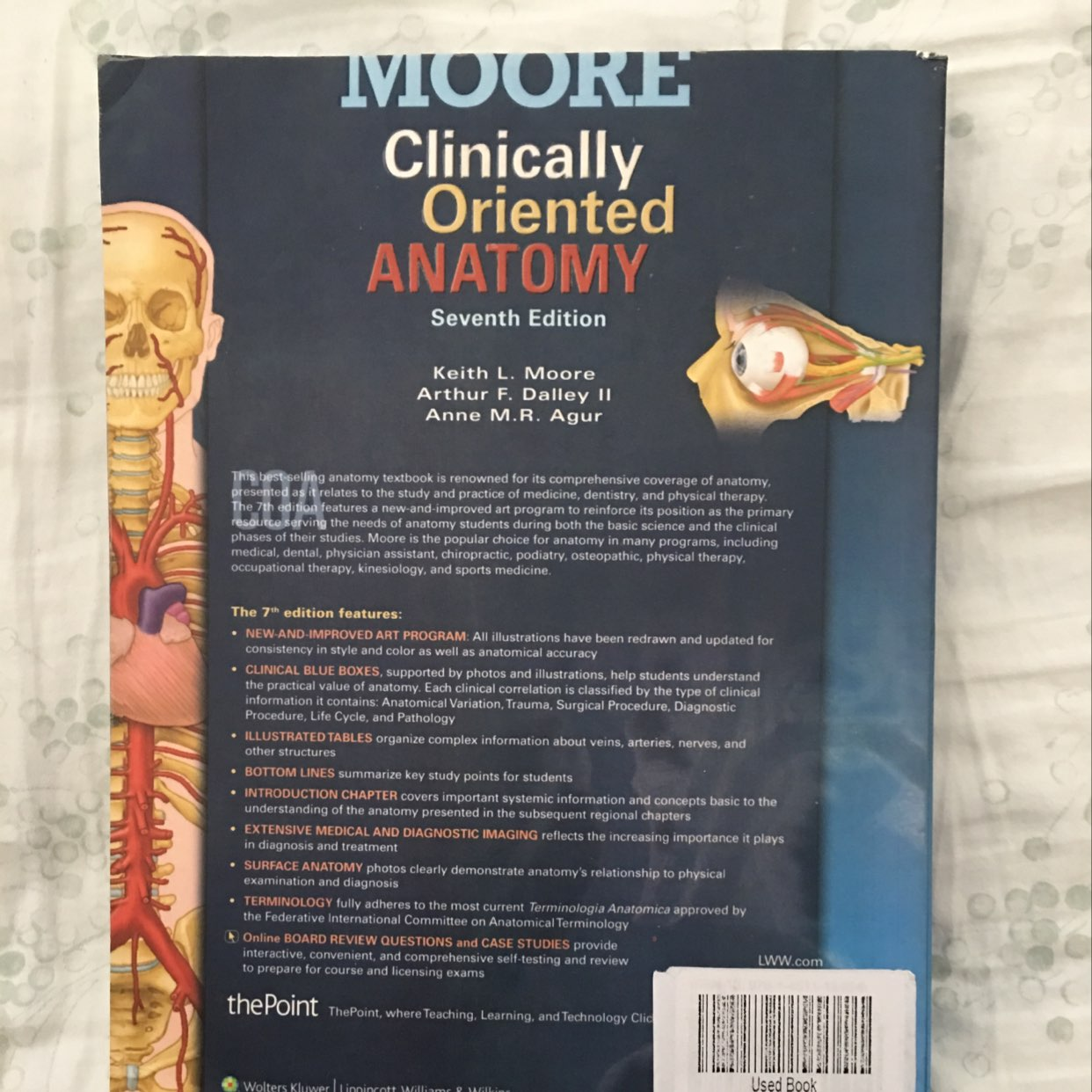 Clinically oriented anatomy by keith moore 7303738 - follow4more.info