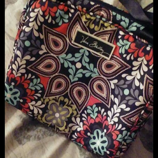 Vera Bradley insulated lunch bag