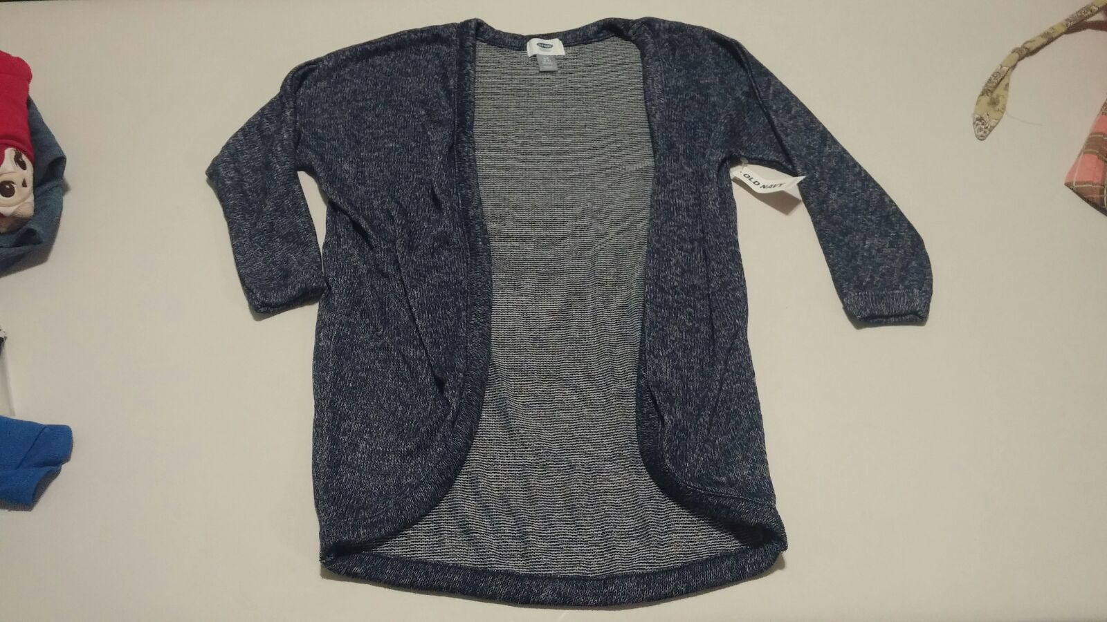Old Navy blue cardigan sweater S 6 7 nwt - Mercari: BUY & SELL ...