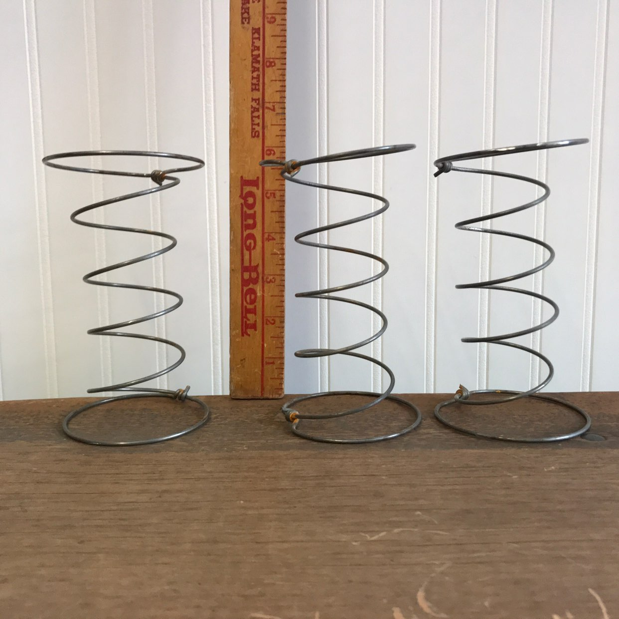 Set of 3 Antique Reclaimed Bed Springs
