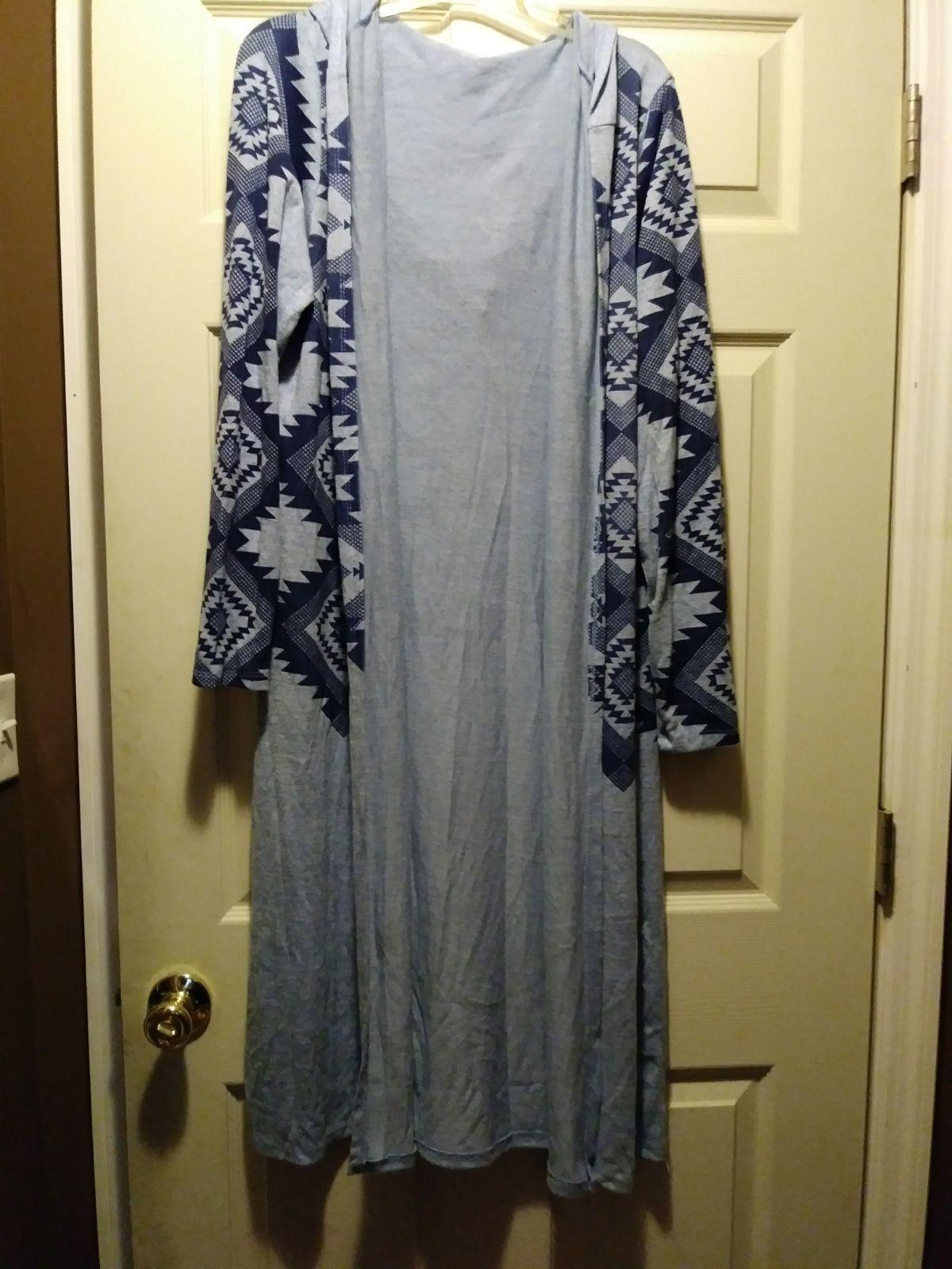 Ladies 1x long duster cardigan Aztec - Mercari: BUY & SELL THINGS ...