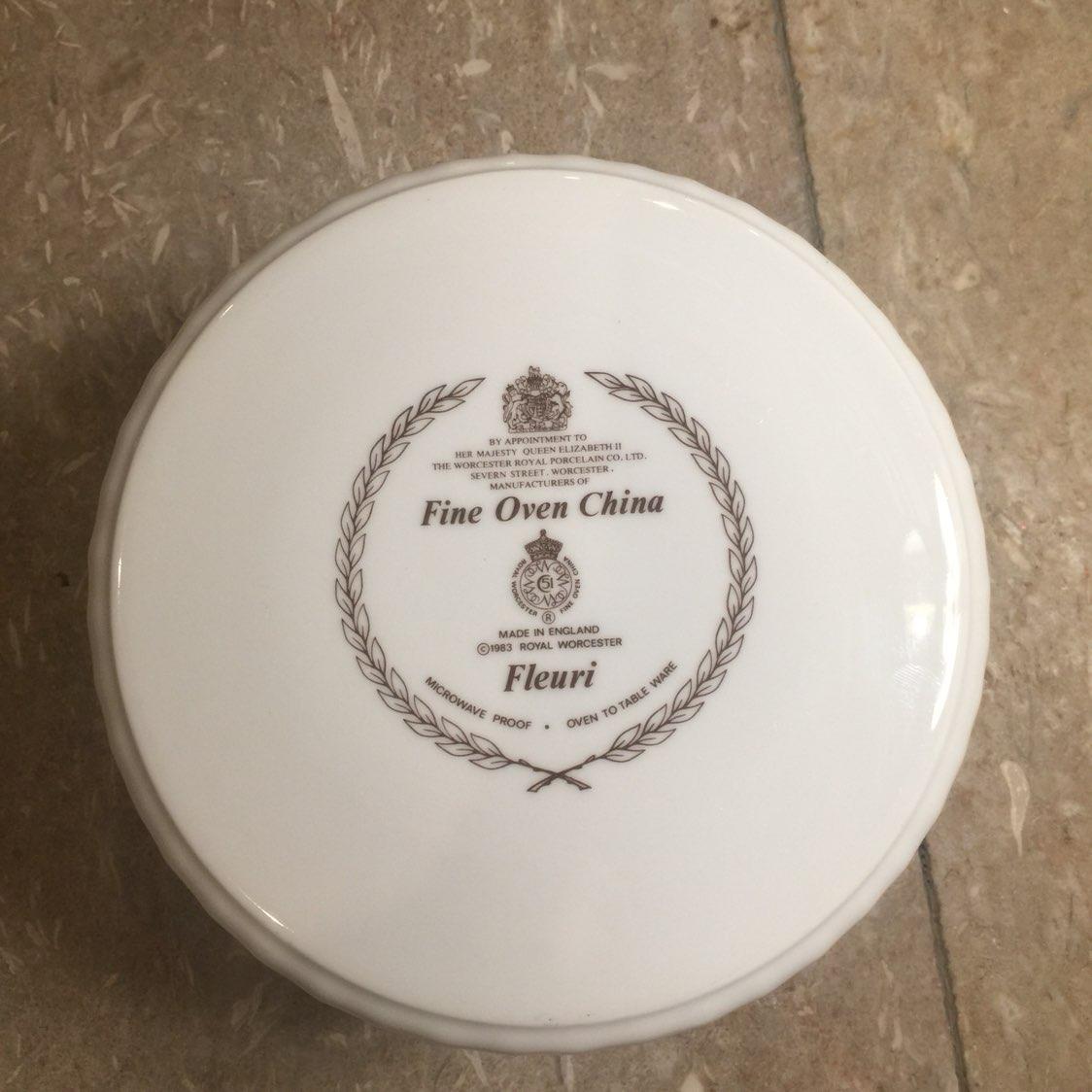 Royal Worcester Fleuri Fine Oven China
