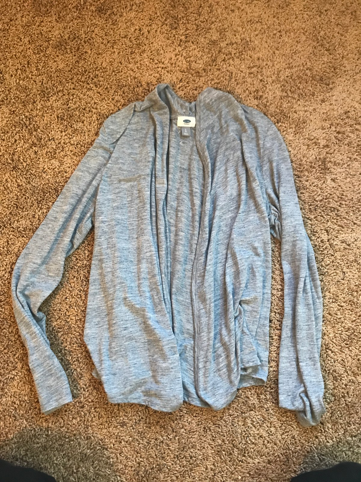Heather Blue Sweater - Mercari: BUY & SELL THINGS YOU LOVE