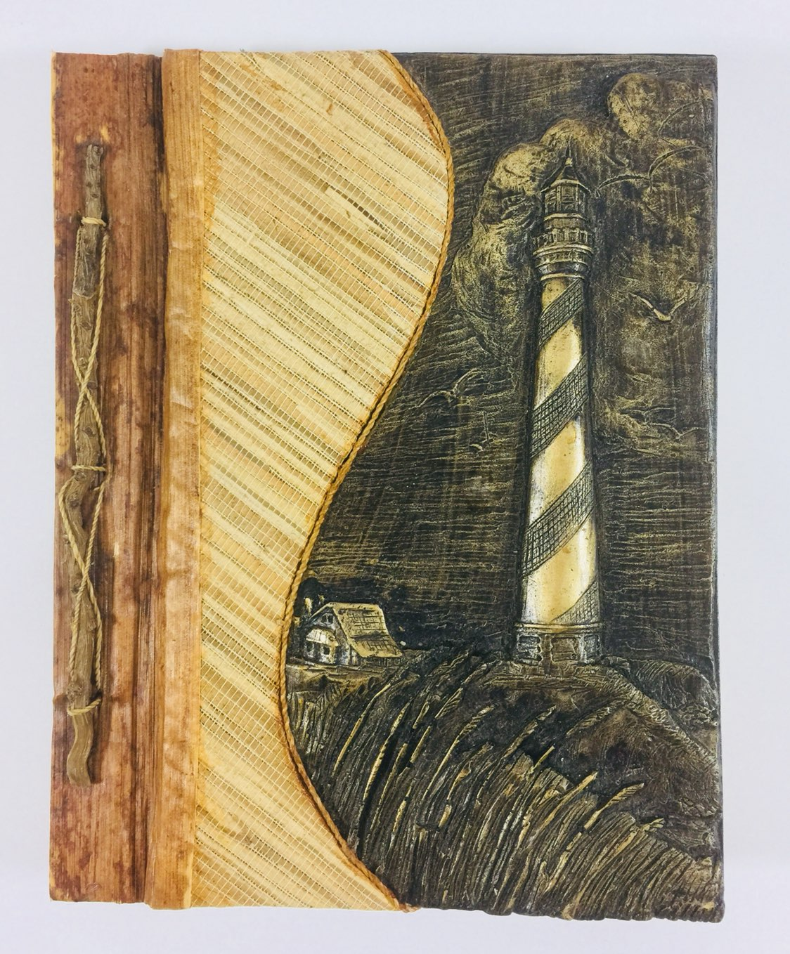 Wooden Lighthouse Scrapbook