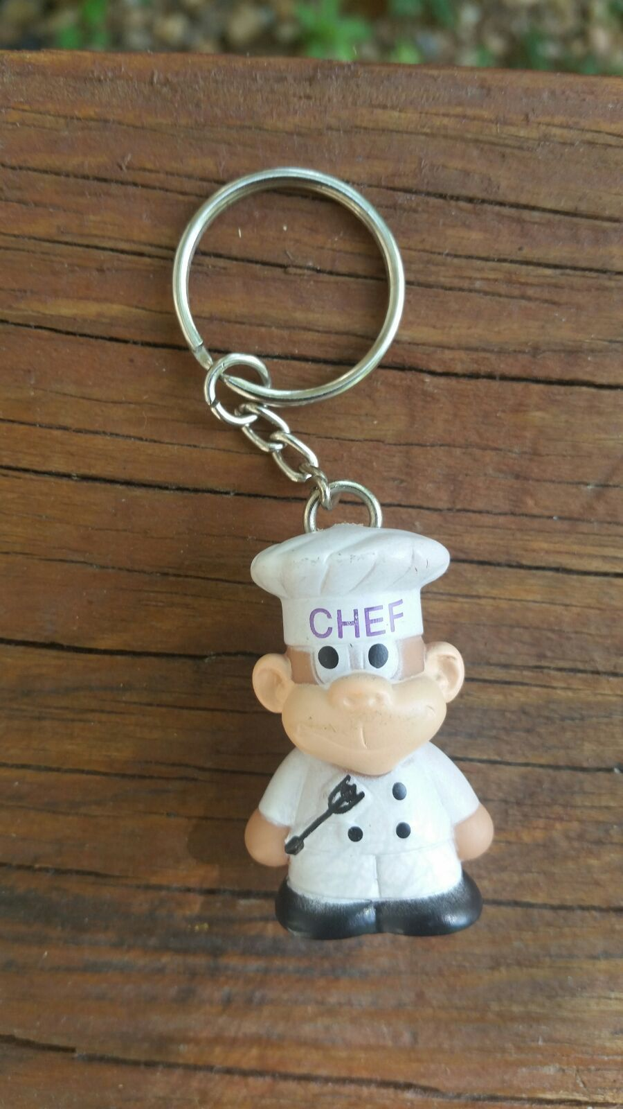 ♡chef keychain monkey rare & unique♡