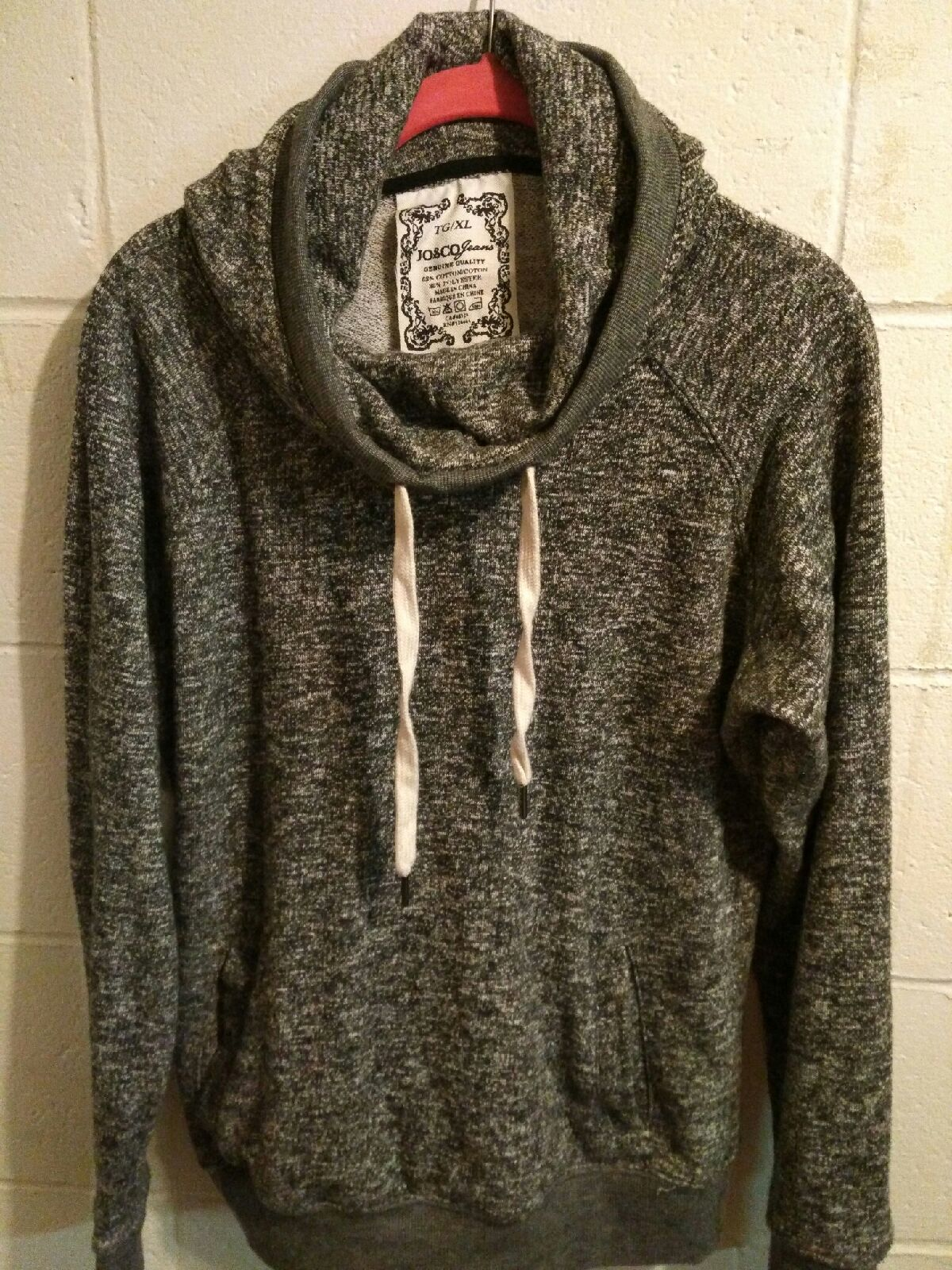 Slouchy Gray Hooded Sweater - Mercari: BUY & SELL THINGS YOU LOVE