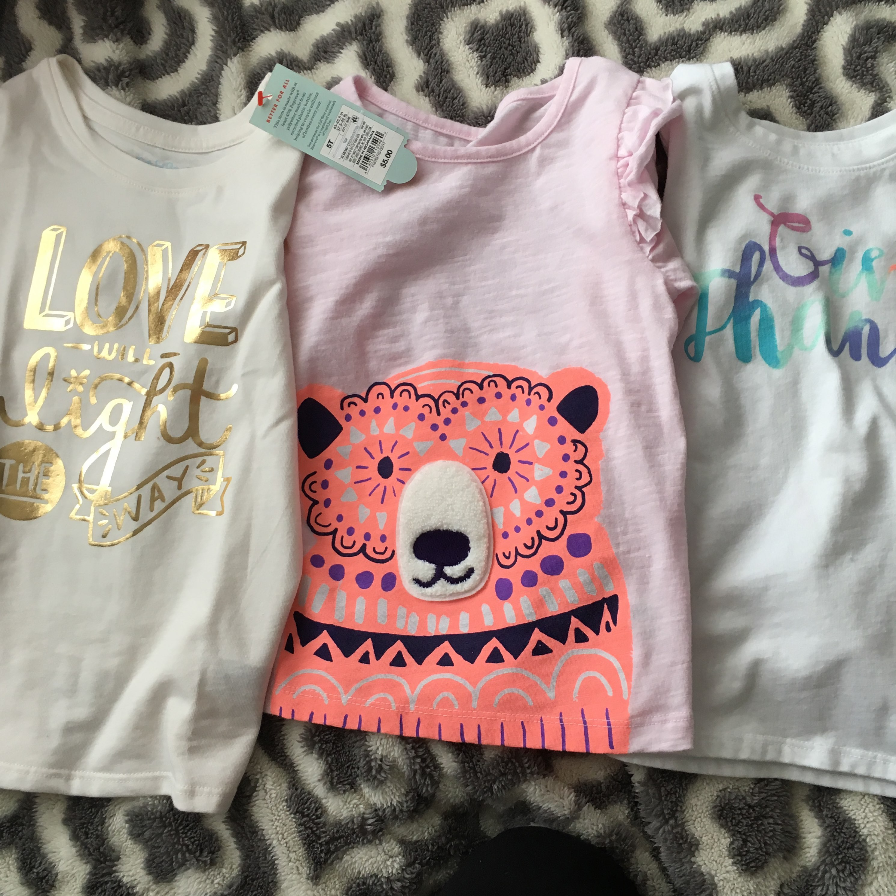 5t Cat And Jack Shirts