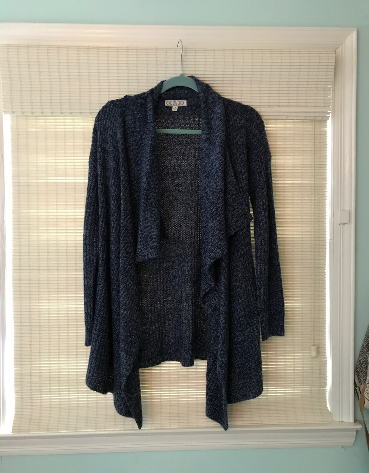 Light Navy Cardigan - Mercari: BUY & SELL THINGS YOU LOVE