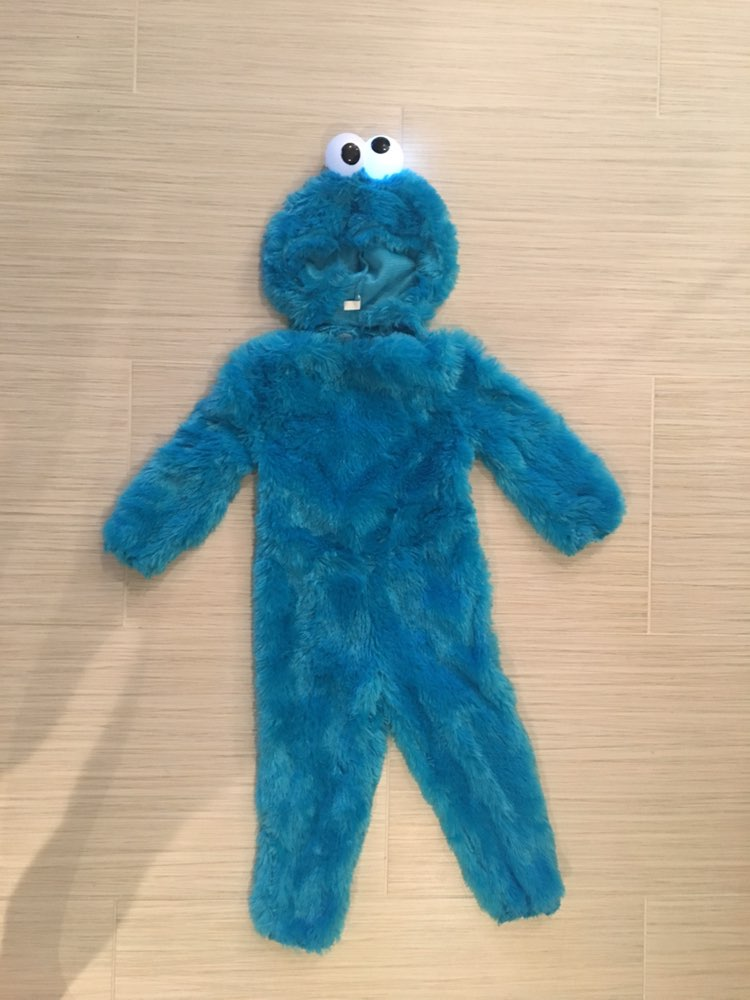 Halloween Cookie Monster Costume 2t