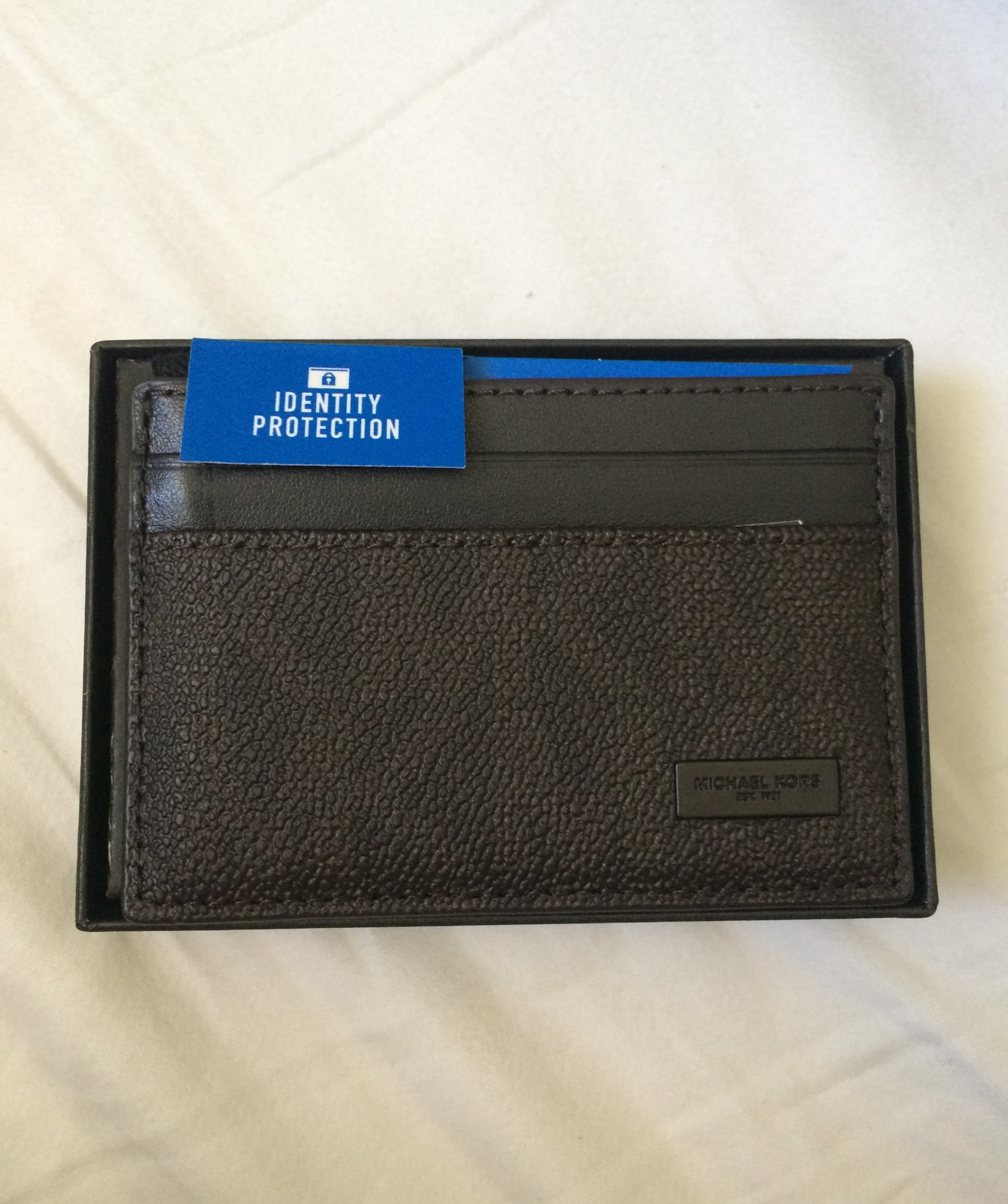 Michael Kors mens wallet/card holder