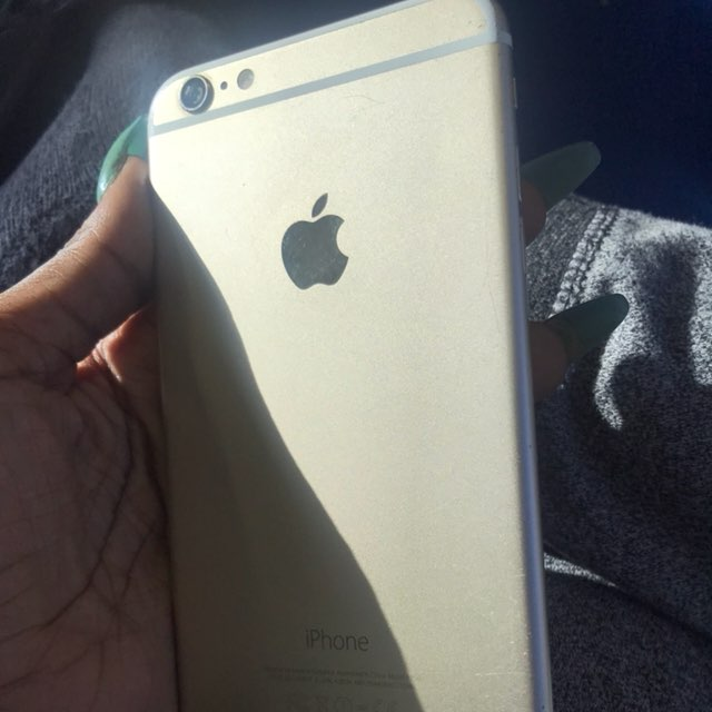 Gold IPhone 6 Plus - Good Condition