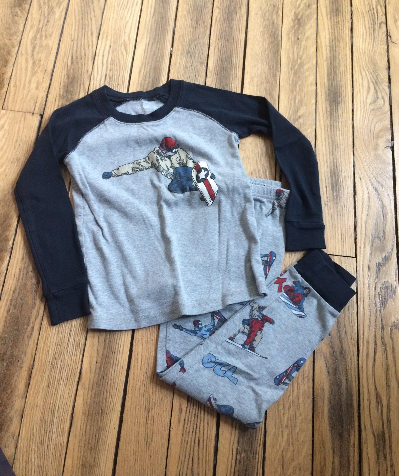 gymboree snowboard pajamas