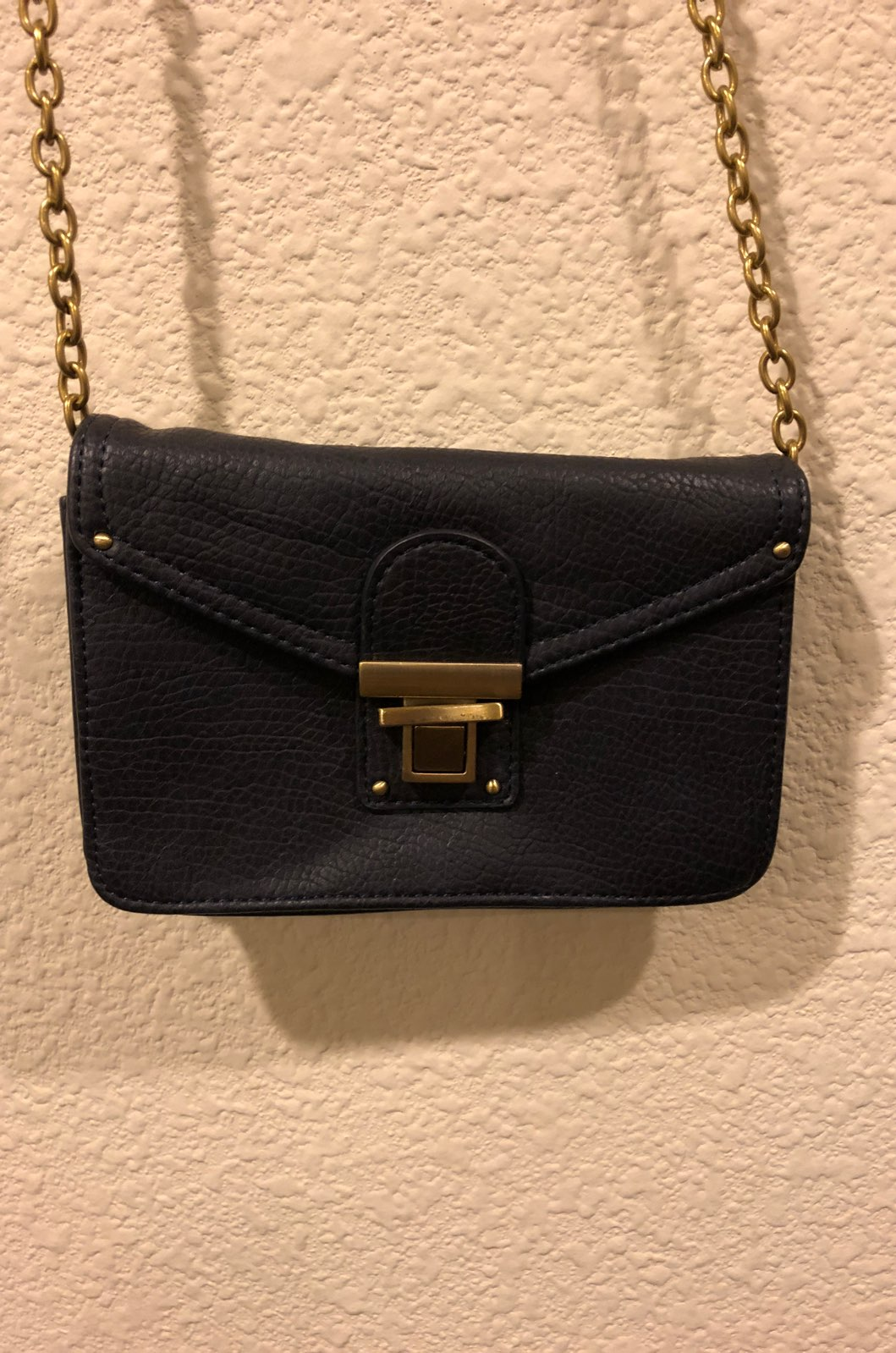 Navy Crossbody Mini Bag Purse