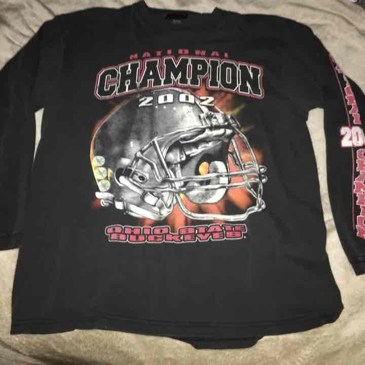 Ohio state national championship t shirt mercari buy for National championship t shirts