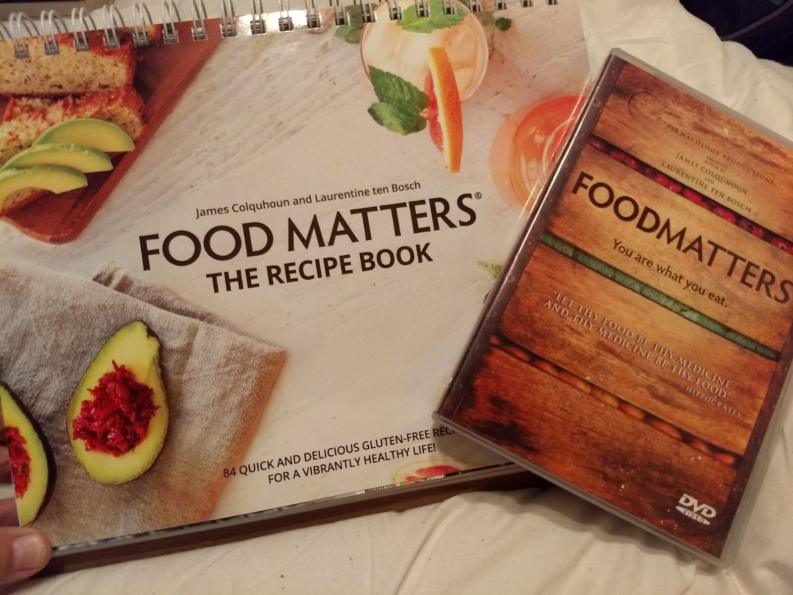Foodmatters dvd and recipe book mercari buy sell things you love foodmatters dvd and recipe book forumfinder Image collections