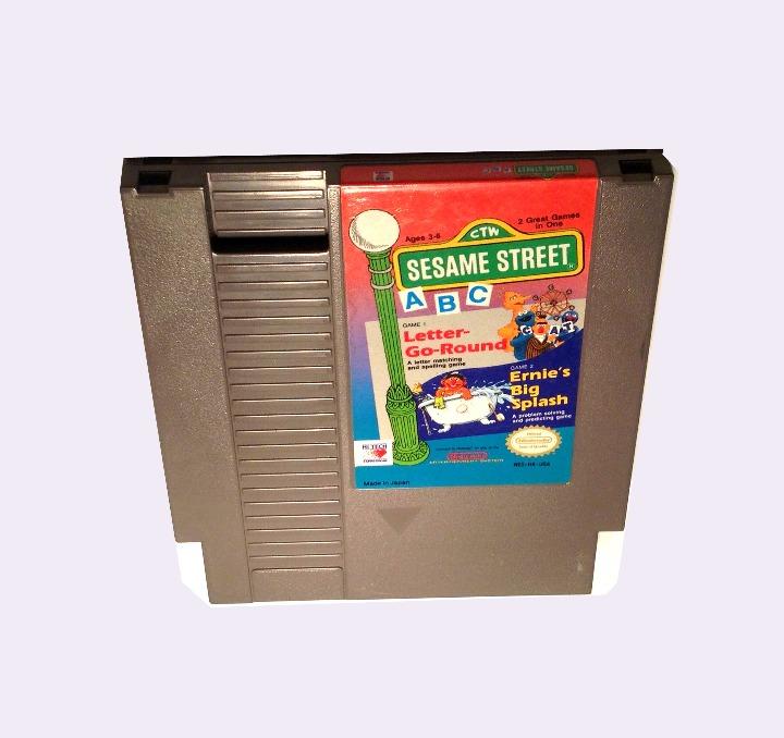 Sesame Street NES