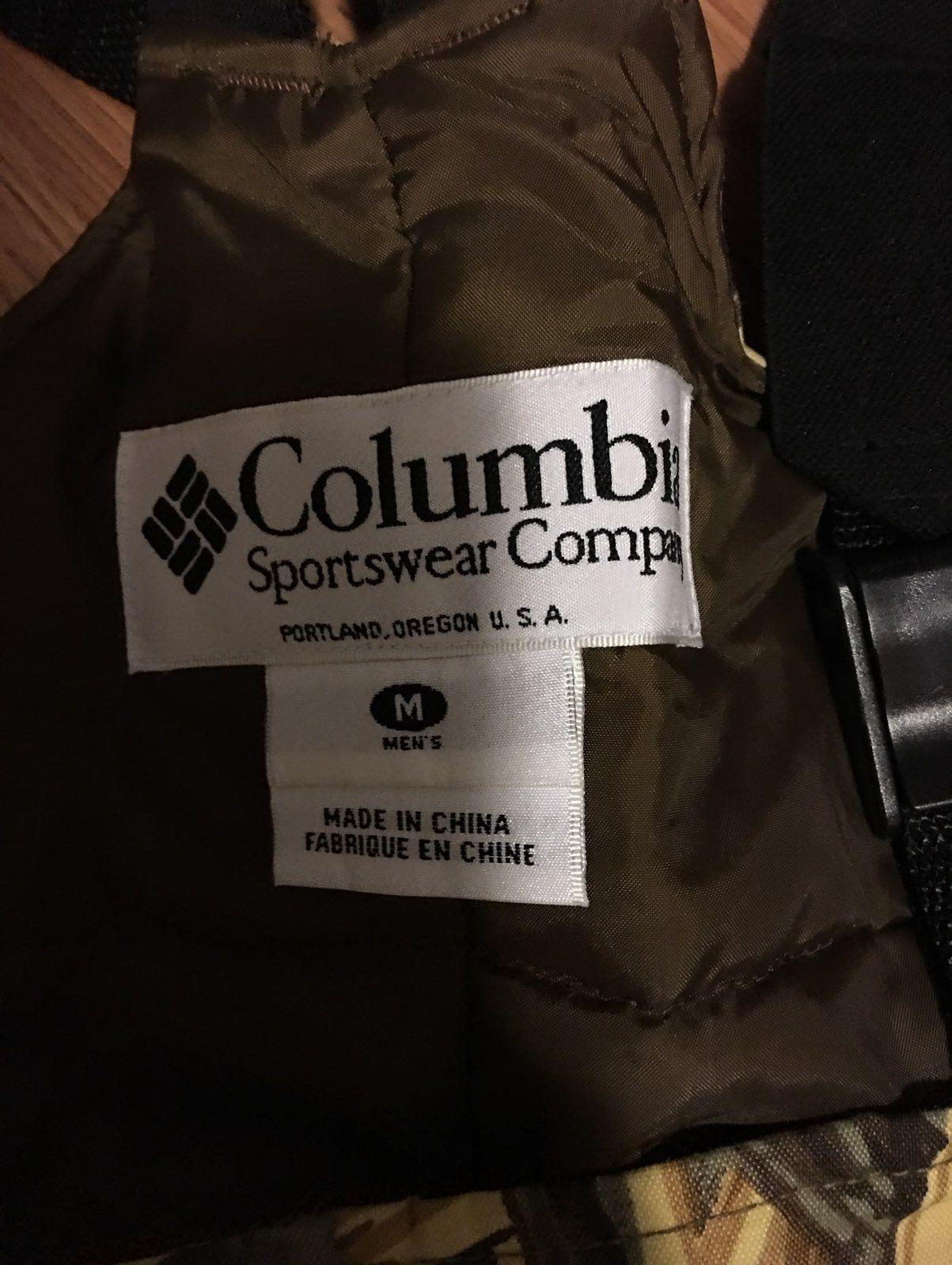 Columbia Insulated Bib