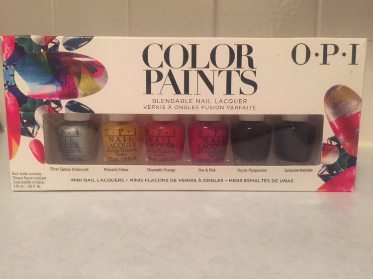 OPI stained glass set