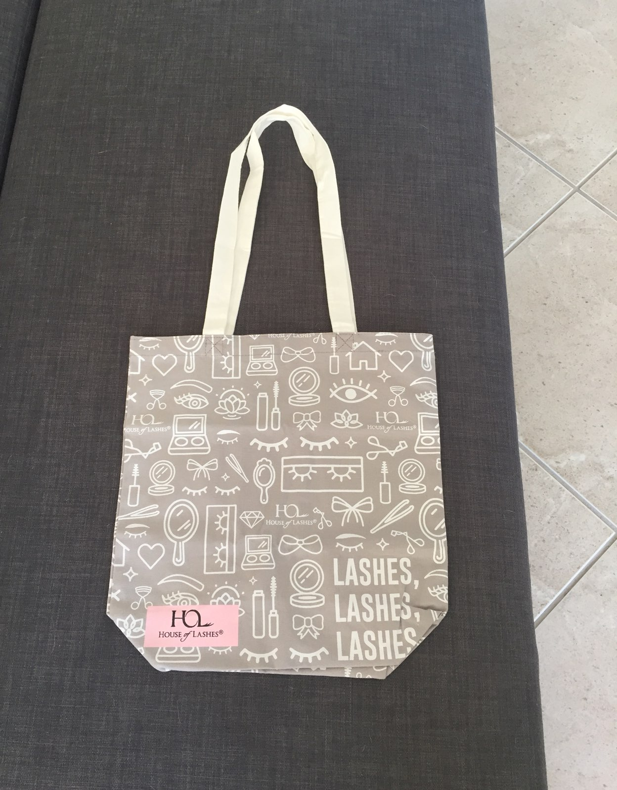 House of Lashes Tote Bag