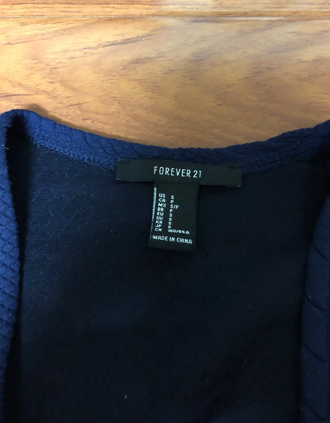 F21 Blue Cardigan
