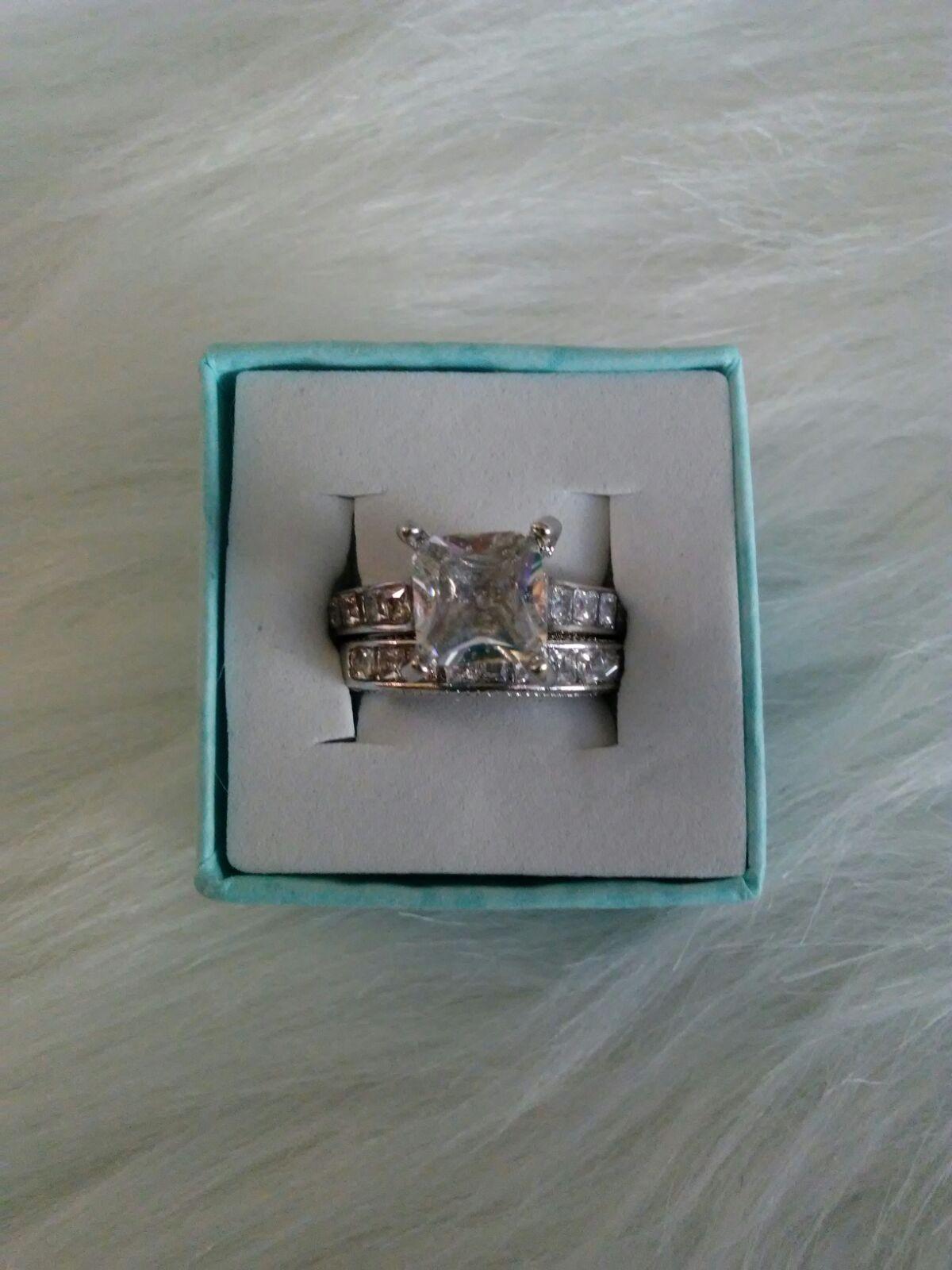 New Cubic Zirconia Bridal Set Mercari BUY & SELL THINGS YOU LOVE