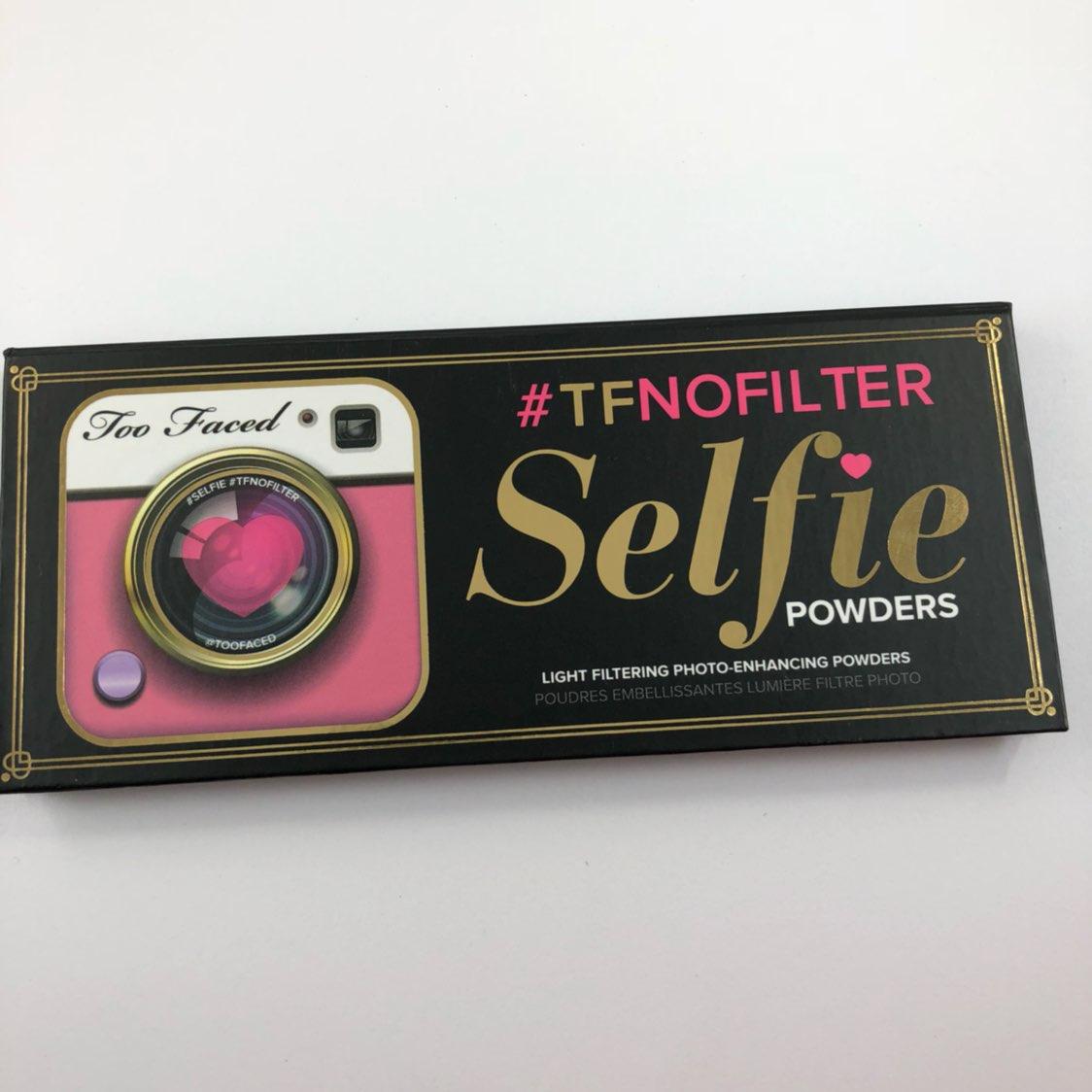 Too Faced No filter Selfie Palette