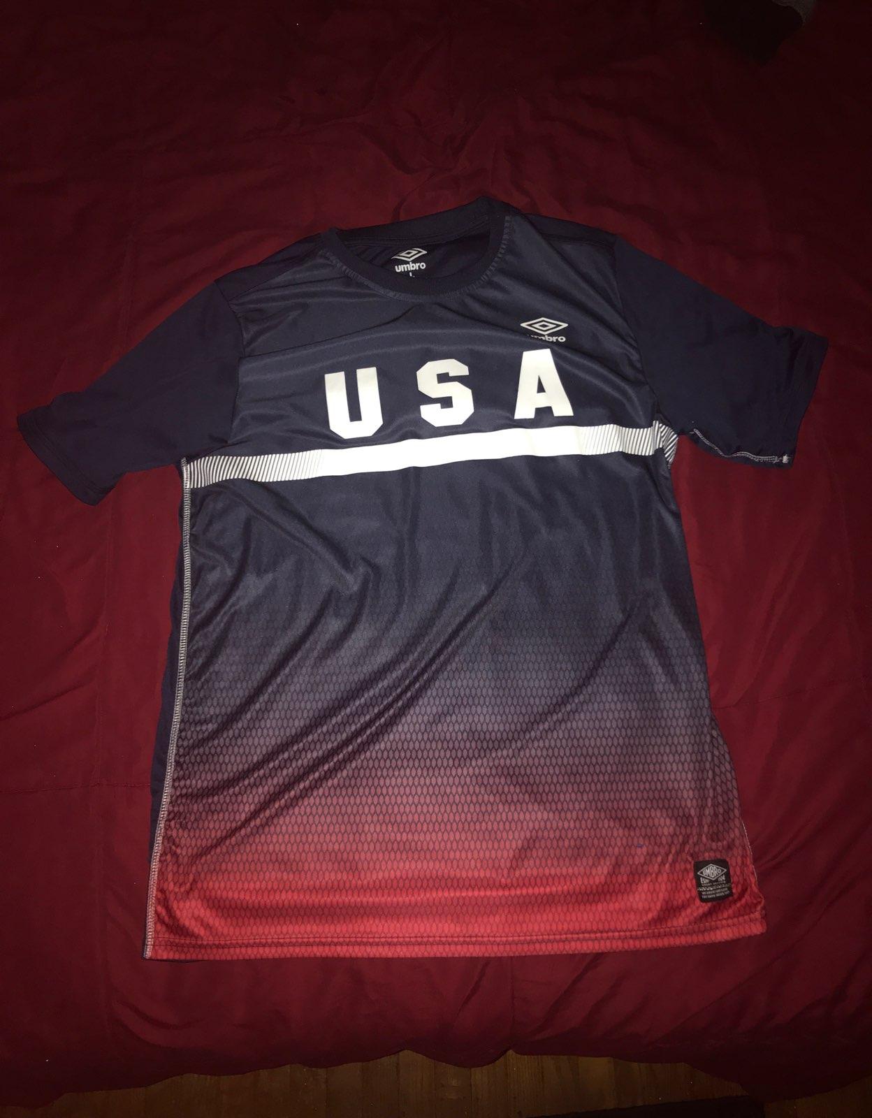 Umbro Usa Soccer Jersey