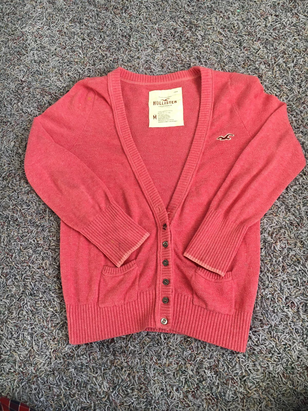 Hollister Pink Sweater - Mercari: BUY & SELL THINGS YOU LOVE
