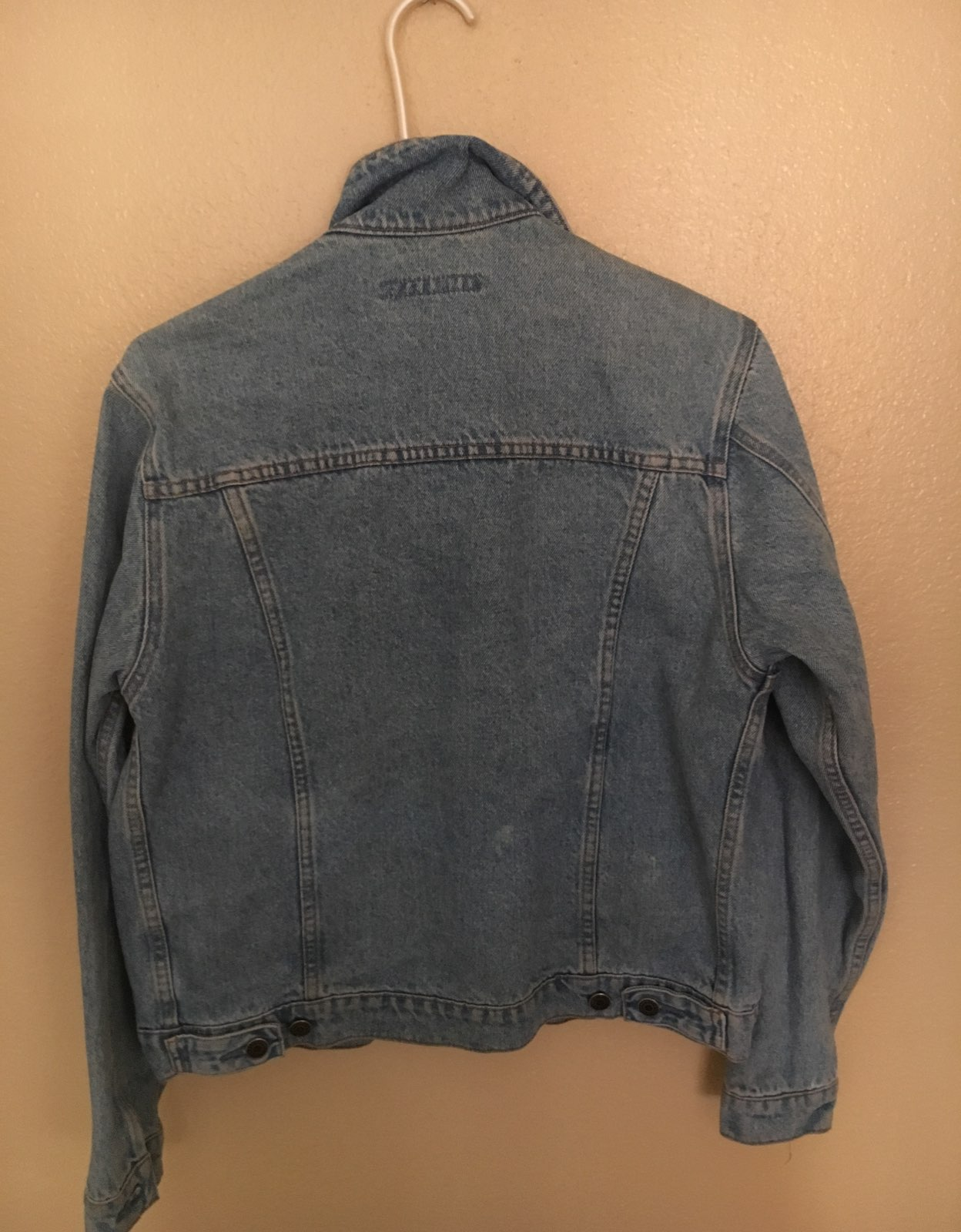 80's Thick Jean Jacket