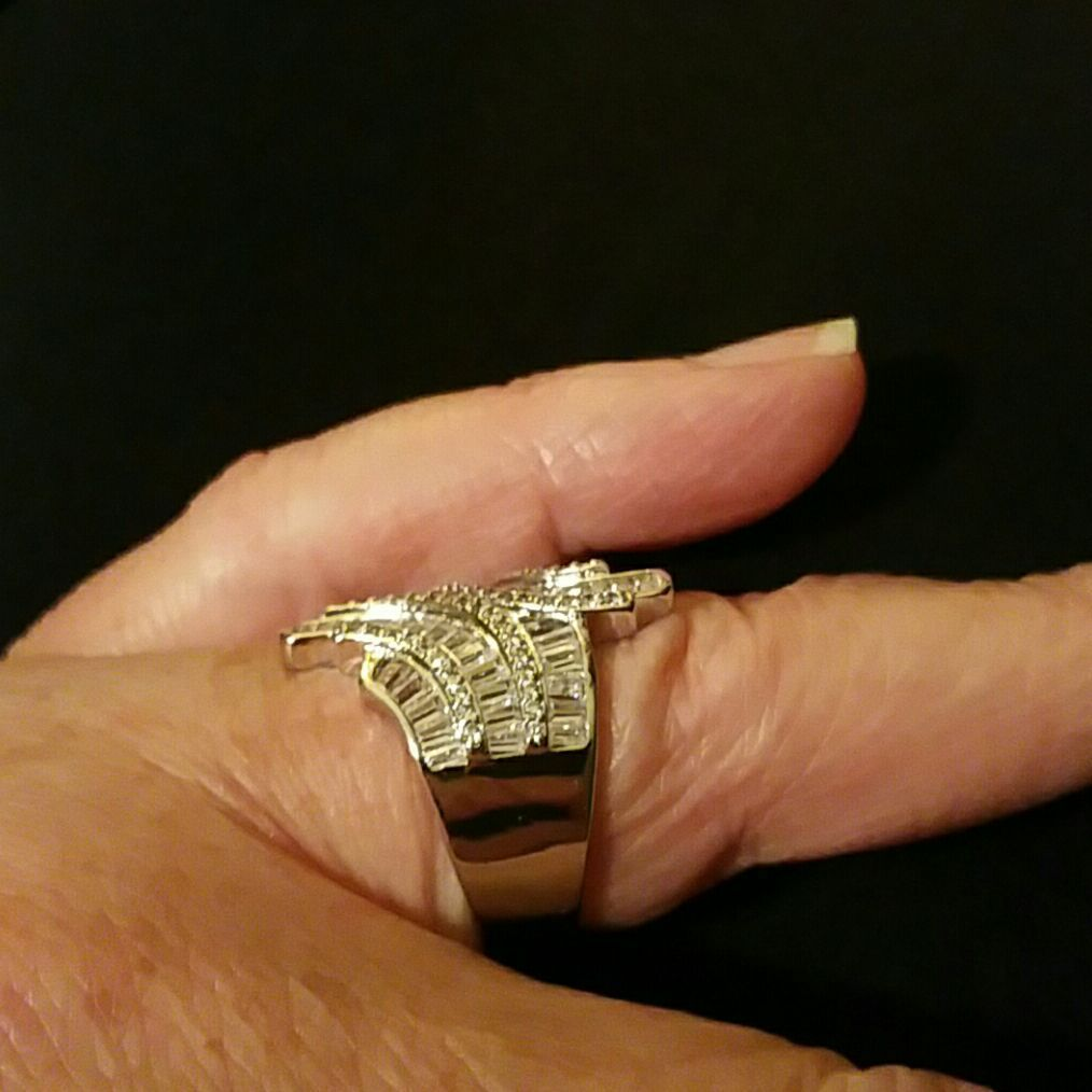 Ginger Lynn CZ Ring