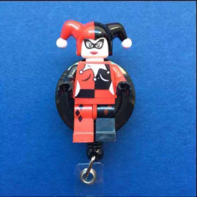 Harley Quinn ID Badge Holder Nurse RN MD