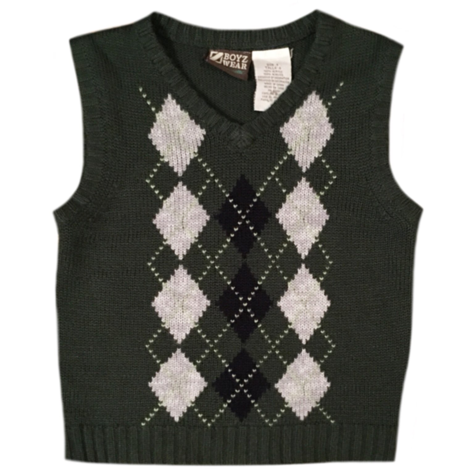 Boyz Wear Green Sweater Vest - Mercari: BUY & SELL THINGS YOU LOVE