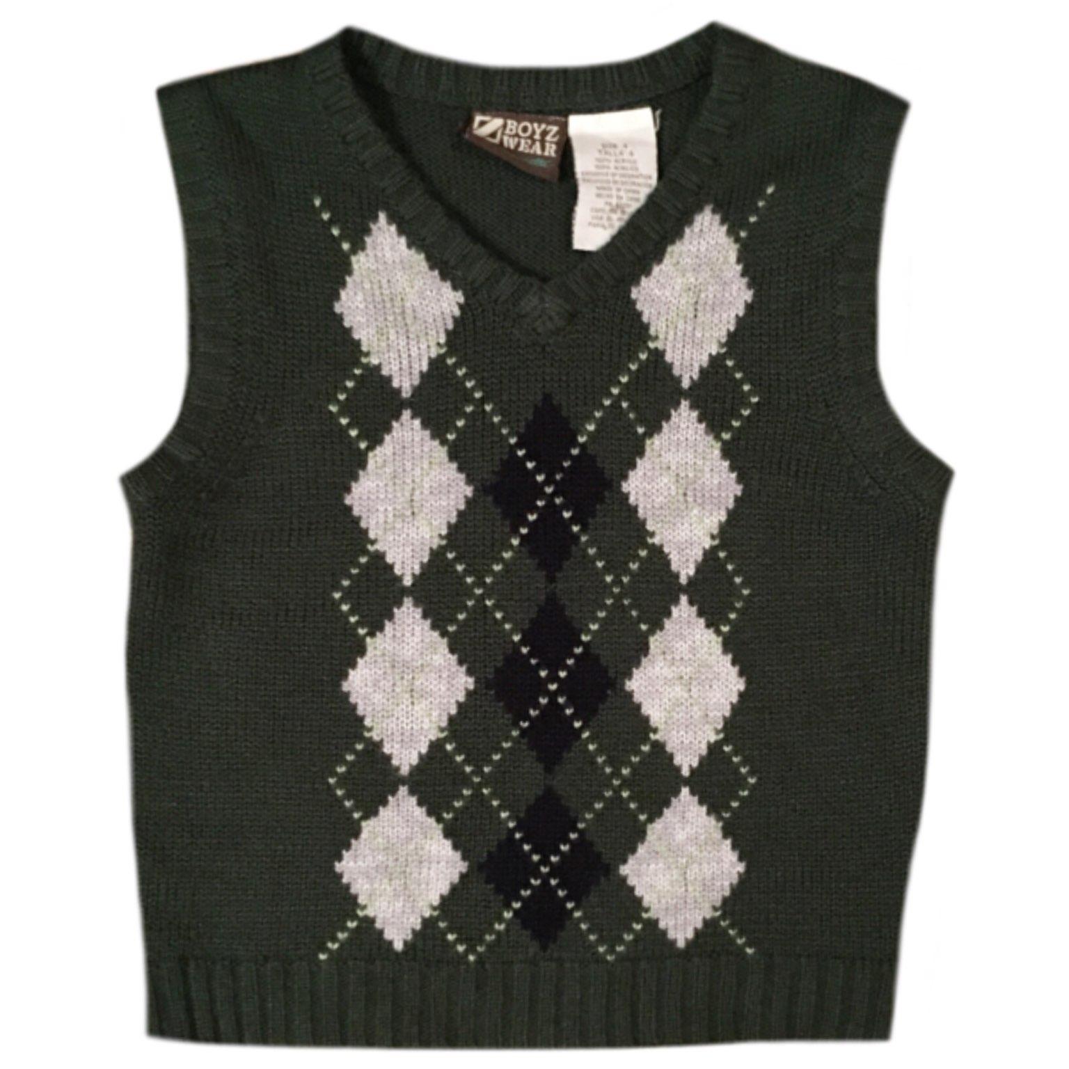 Boyz Wear Green Sweater Vest - Mercari: BUY & SELL THINGS YOU LOVE
