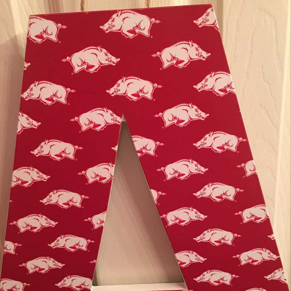 A For Arkansas Razorbacks