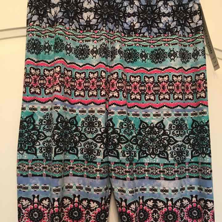 Soft printed leggings tribal-Small/Large