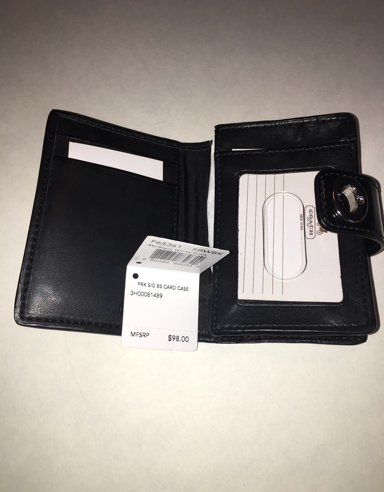 Coach Business Card Case!! - Mercari: The Selling App