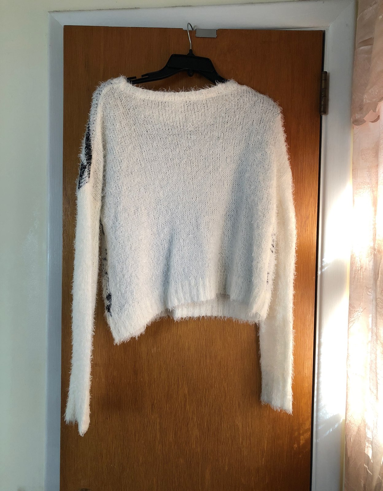 Soft White Sweater - Mercari: BUY & SELL THINGS YOU LOVE