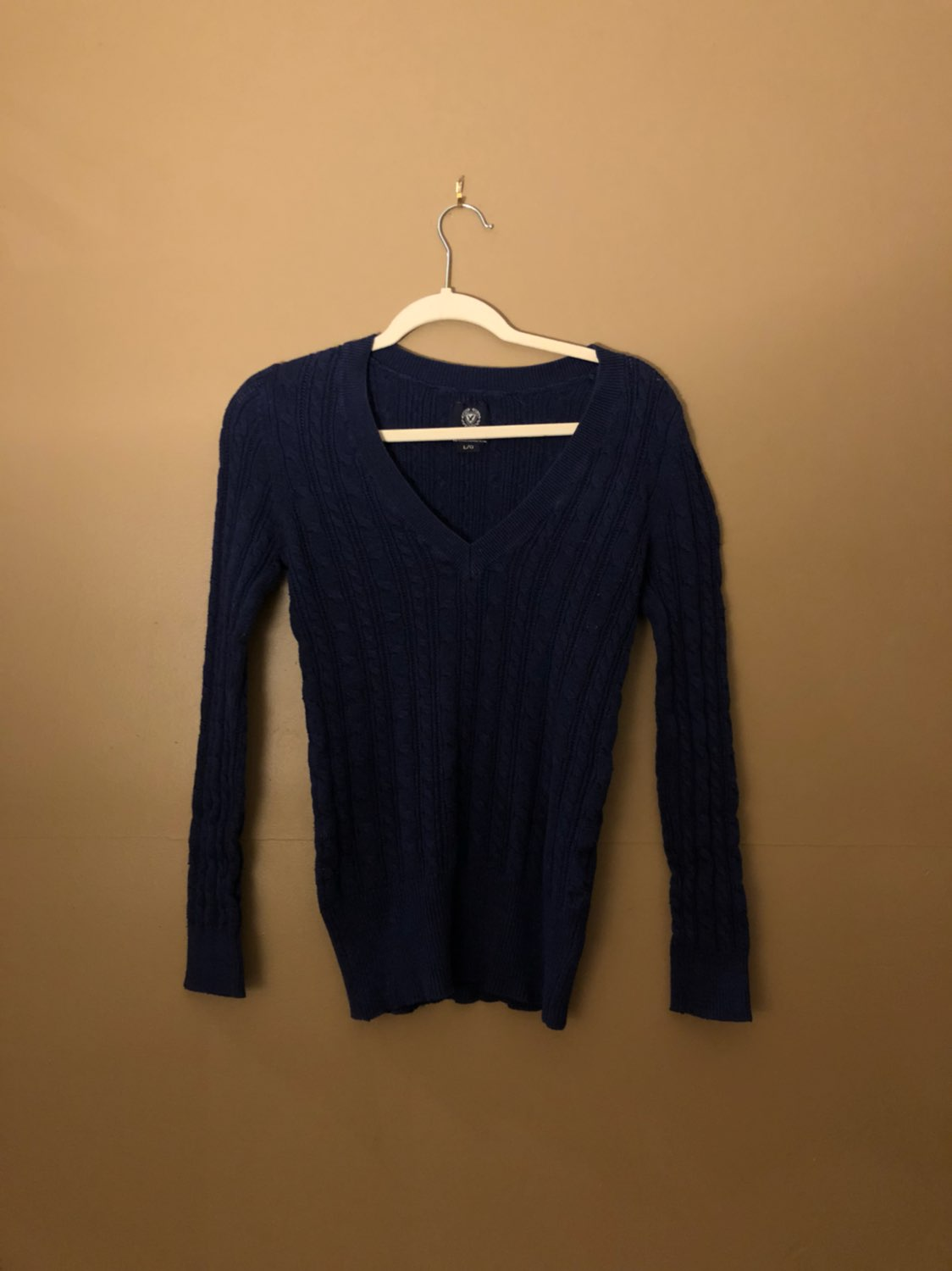 American Eagle AE Sweater Blue Juniors L - Mercari: BUY & SELL ...