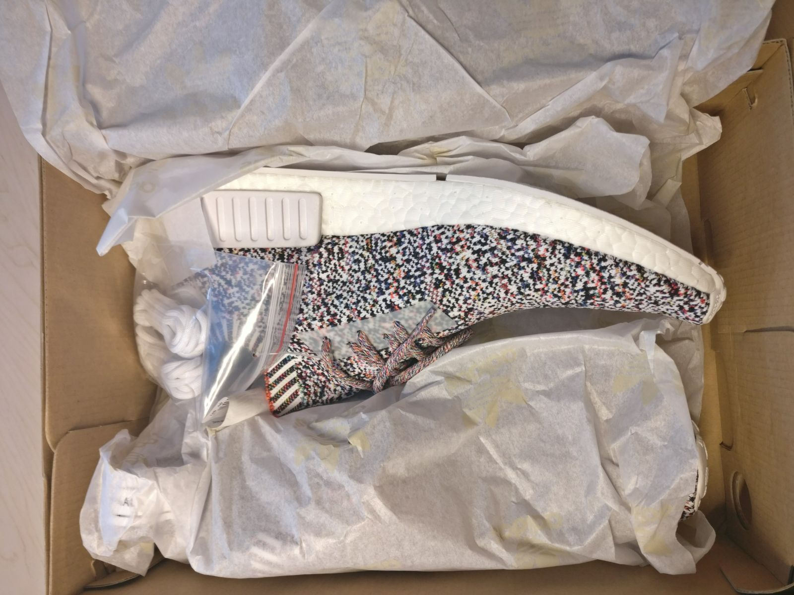 Adidas NMD R1 3M Wool 9 100% Authentic CHAMPS EXCLUSIVE