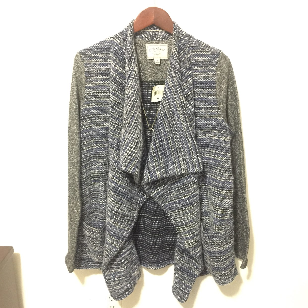 NWT LUCKY BRAND WATERFALL CARDIGAN - Mercari: BUY & SELL THINGS ...