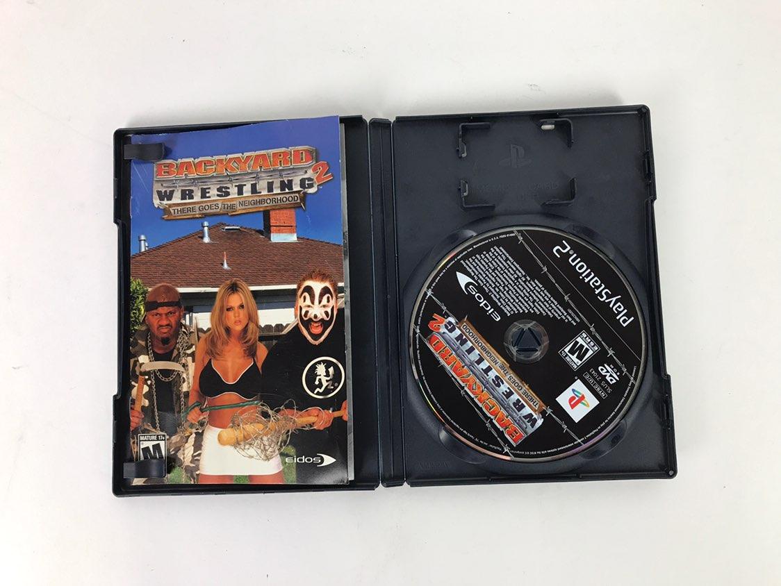 backyard wrestling 2 game ps2 mercari buy u0026 sell things you love