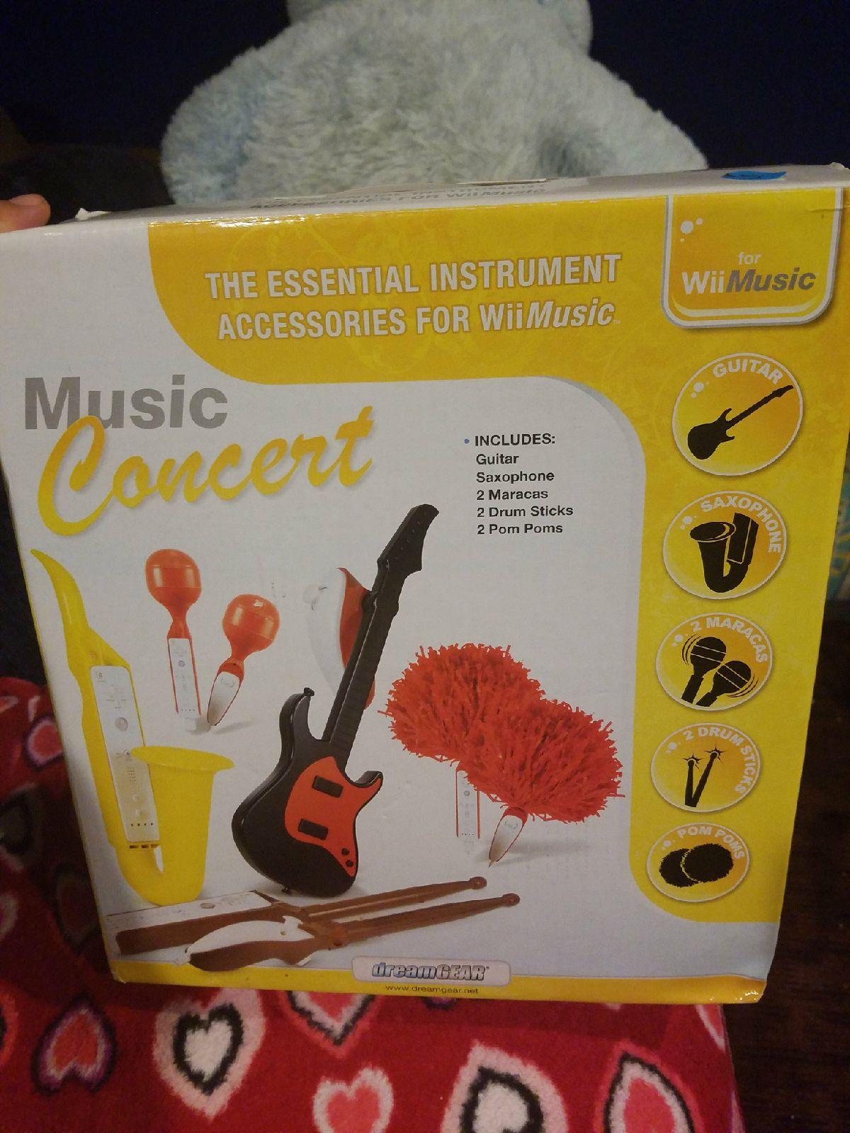 Wii Music Essentials instruments