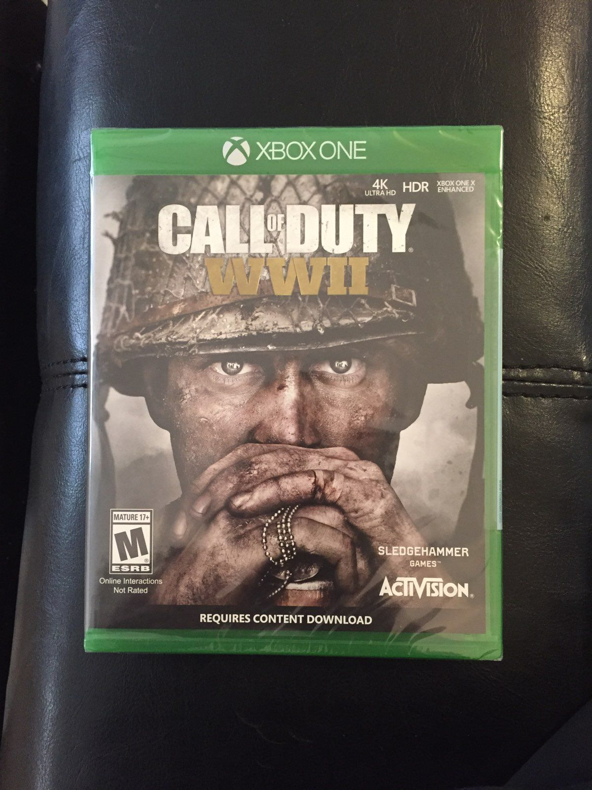 call of duty world war 2 Xbox One S