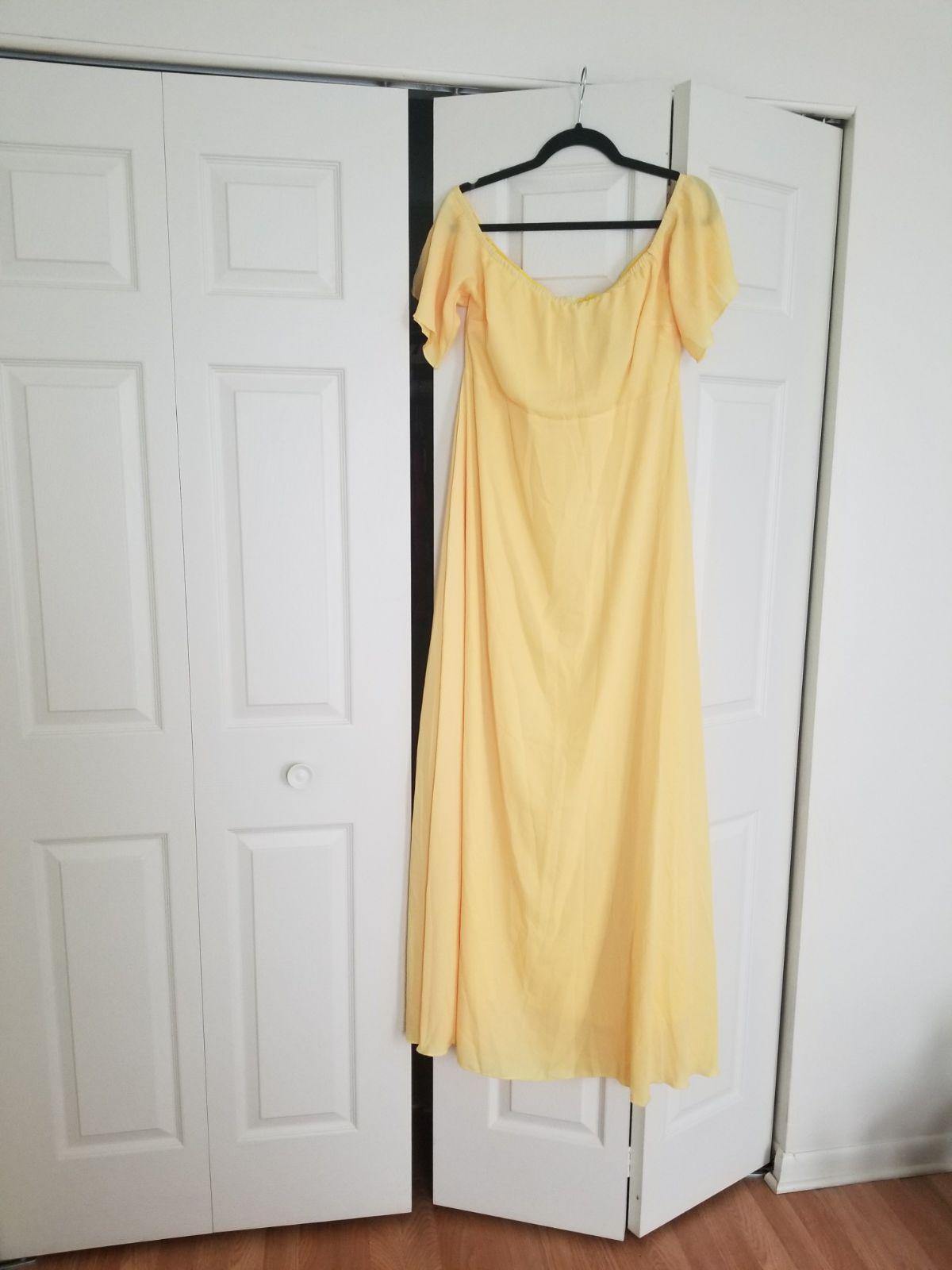 Yellow maternity dress mercari buy sell things you love yellow maternity dress ombrellifo Images