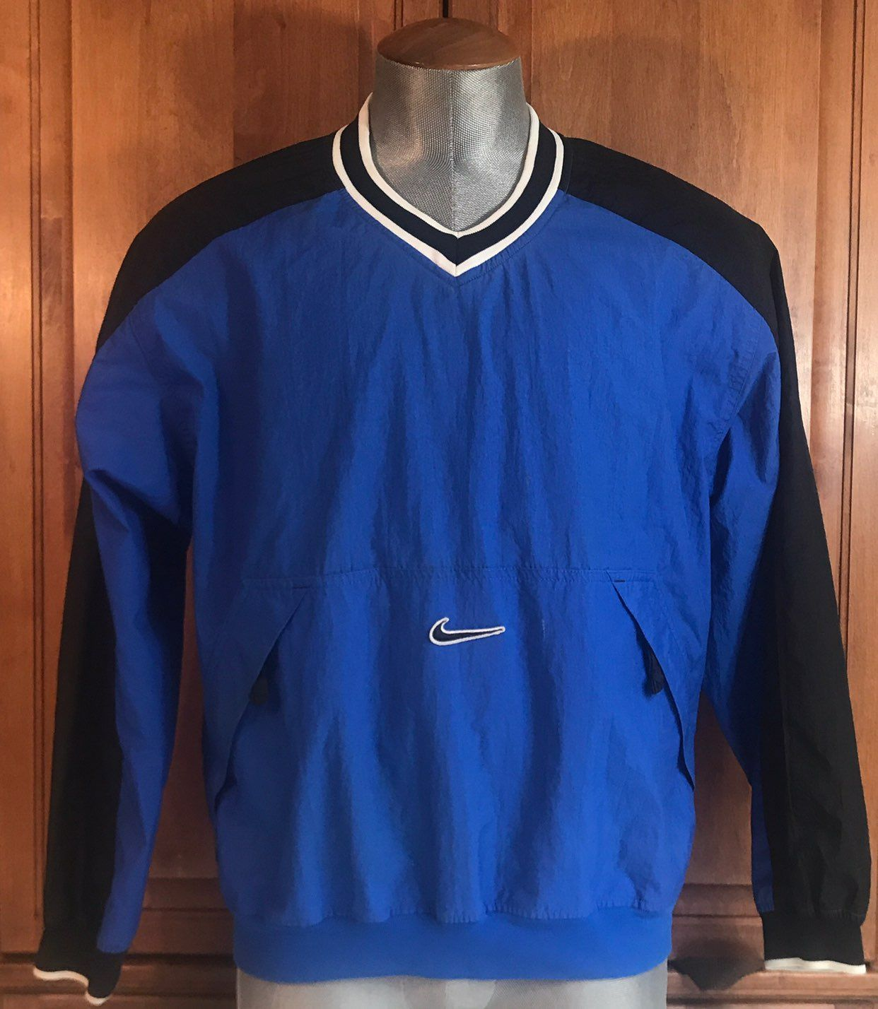 Vintage Nike Athletic Pullover Jacket - Mercari: BUY & SELL THINGS ...