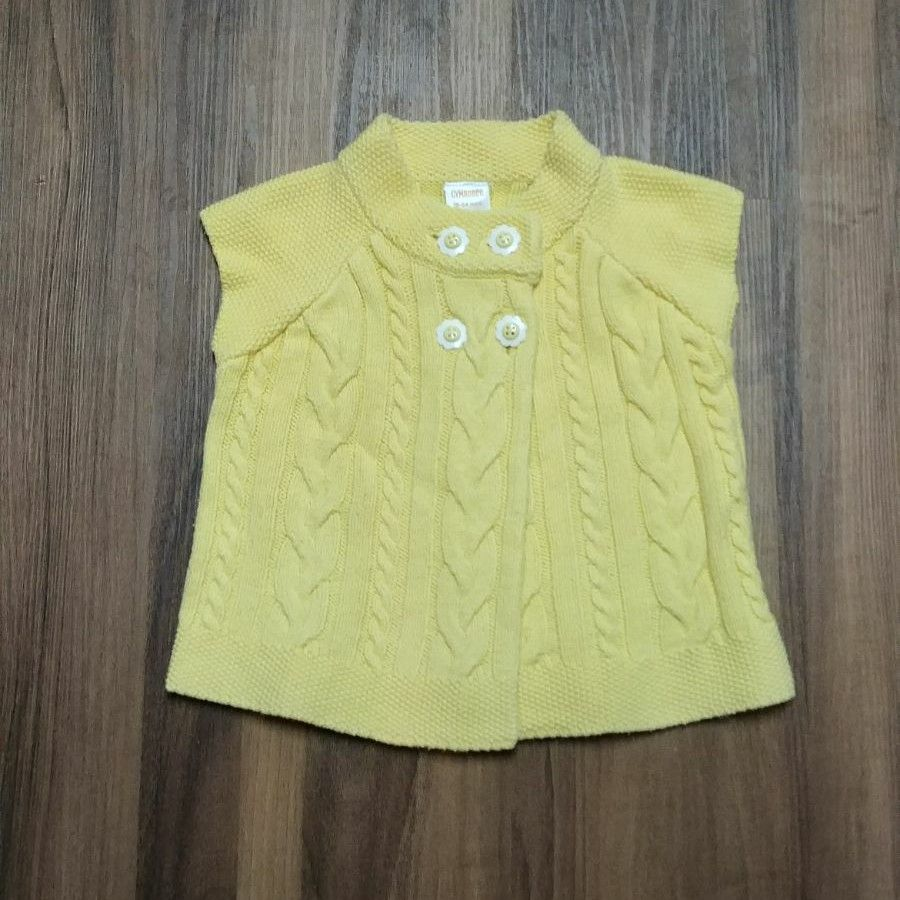 Gymboree yellow sweater vest cardigan - Mercari: BUY & SELL THINGS ...