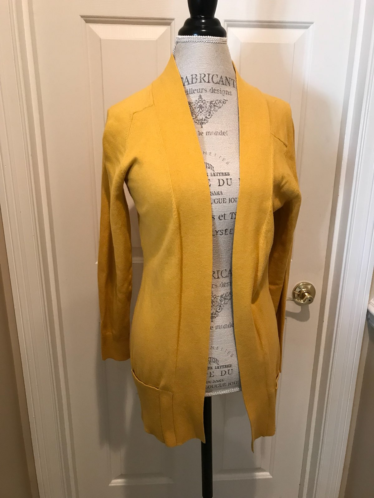 Yellow Cardigan From Francesca's - Mercari: BUY & SELL THINGS YOU LOVE