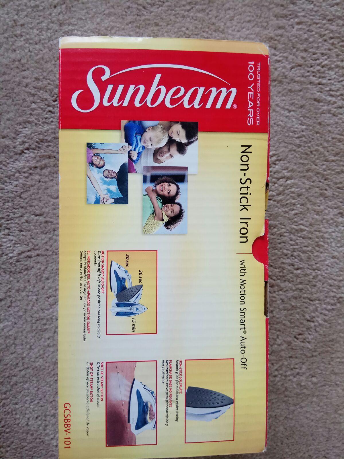 Sunbeam Professional Steam Iron
