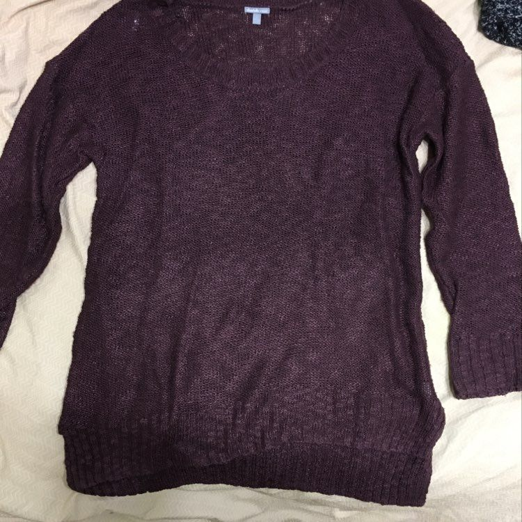 Deep Purple Sweater - Mercari: BUY & SELL THINGS YOU LOVE