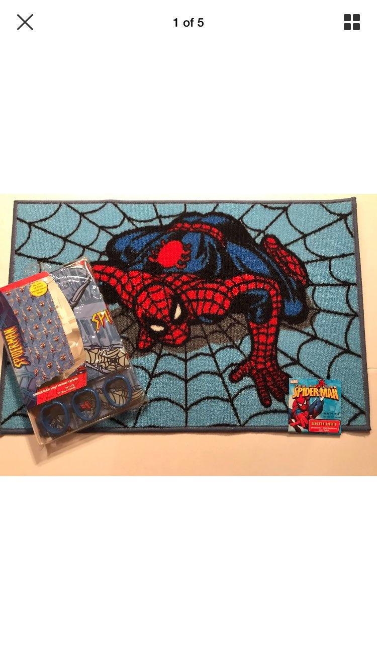 Marvel Spiderman Bathroom Set
